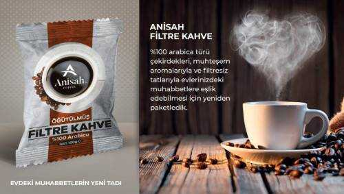 Anisah Öğütülmüş Filtre Kahve 100g
