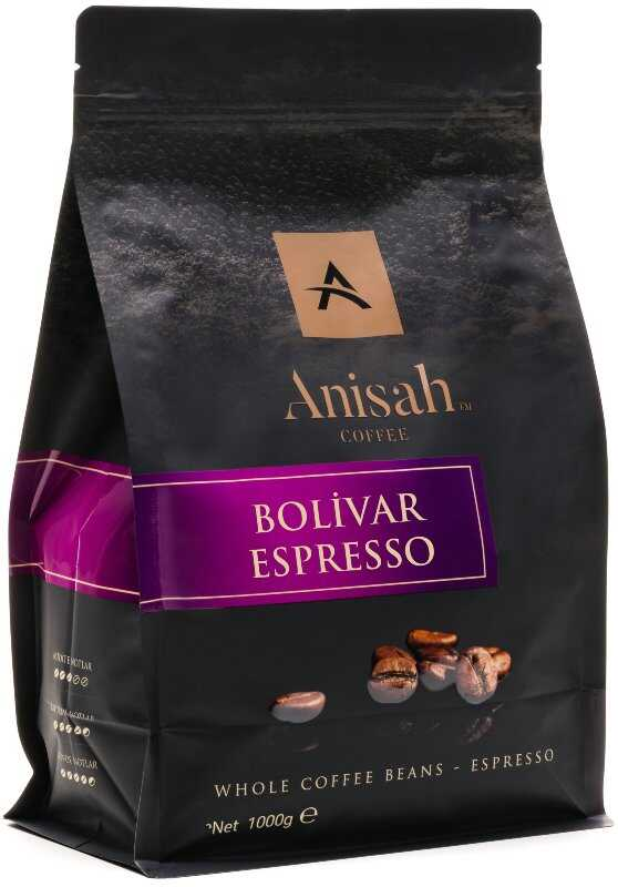 Anisah Colombia Bolivar Espresso 1000 Gram