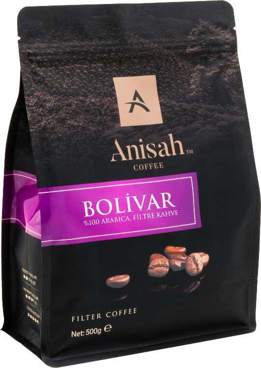 Colombia Bolivar Öğütülmüş Filtre Kahve 500 Gram