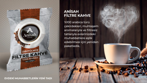 Anisah Öğütülmüş Filtre Kahve </br> (12'li ekonomik paket) - Thumbnail